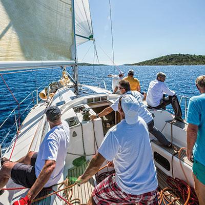 Day Sailing on Lake Michigan