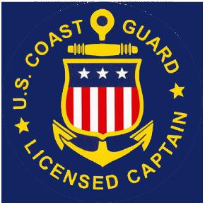 U S Coast Guard Licensed Captain